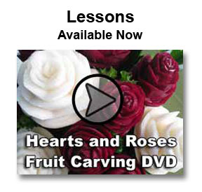 Vegetable and Fruit Carving Video Lessons