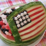 4th of July Star Spangled Watermelon