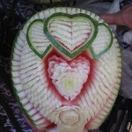 Watermelon hearts by Nuj