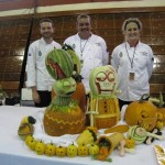 2nd Place winners of the Team Competition from Columbus Culinary Institute.