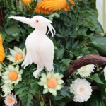 Vegetable Carving - Egret