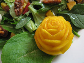 Yellow Beet Rose
