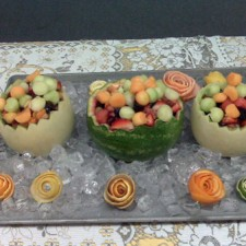 Easter Fruit Carving Ideas