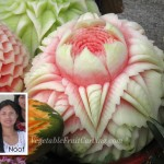 Thai watermelon carving by Nuj