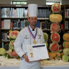 Fruit carving competition ACF New York
