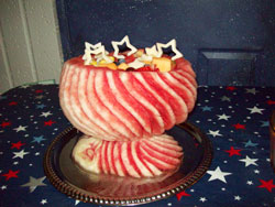 Watermelon bowl by Teresita Stafford