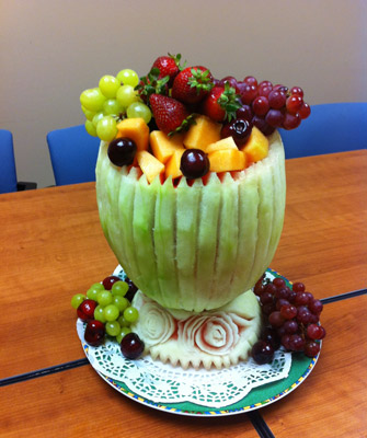 Watermelon Bowl made by Mike Ghali