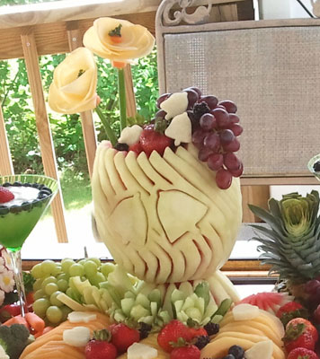 Wedding Watermelon Bowl