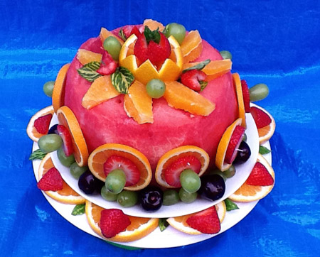 Watermelon Cake by Mary Grace Geraldoy