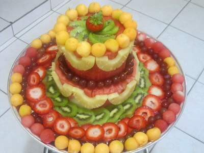Watermelon cake by Patricia Alexandre