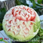 Krong Na Songkla's watermelon carving