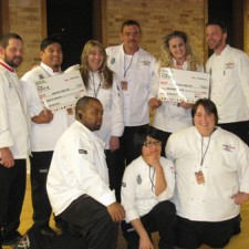 1st place winning team at the Carve III
