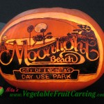 Moonlight Beach Pumpkin Carving