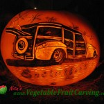 Woody Wagon Pumpkin Carving