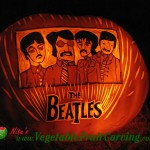 The Beatles Pumpkin Carving