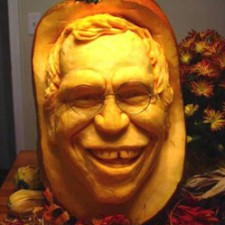David Letterman Pumpkin Carving