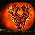 Lion Lizard Pumpkin Carving