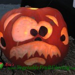 Funny Face Pumpkin Carving