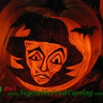 Witch Pumpkin Carving
