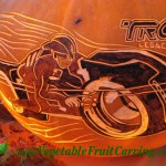 Tron Pumpkin Carving