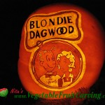 Blondie and Dagwood Pumpkin Carving