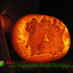The Chipmunks Pumpkin Carving