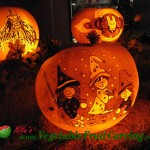 Cartoon Witches Pumpkin Carving