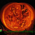 Raining Cats and Dogs Pumpkin Carving