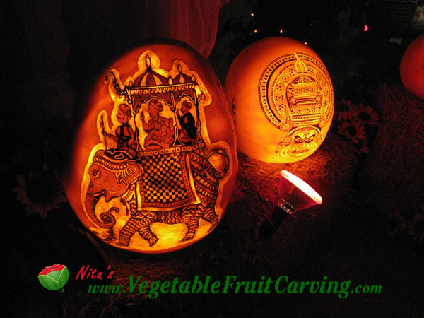 How to carve pumpkin lanterns for How to carve an elephant on a pumpkin