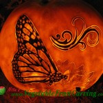 Butterfly Pumpkin Carving
