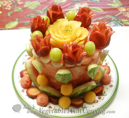 watermelon cake by Phung