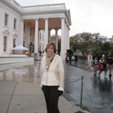 Nita at the White House