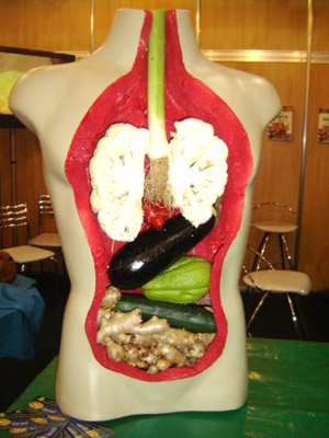 chest-cavity-food-sculpture
