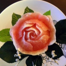 Beginner watermelon rose by Ali Butt