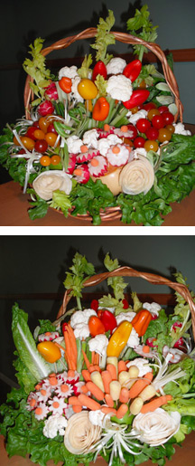 Natalia's Vegetable bouquets