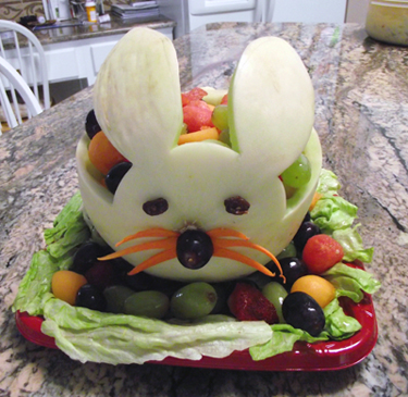 Fruits and Vegetables bunny