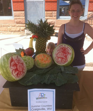 Heritage fruit and vegetable carving competition 2011