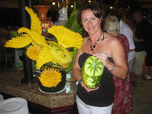 Vegetable and fruit carving Aneta 1