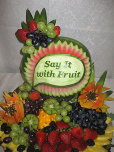 Watermelon Vegetable and Fruit Carving