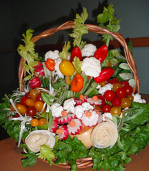 Vegetable Edible Basket
