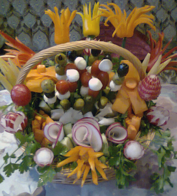 Edible Spring Basket