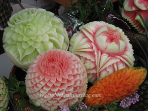Food Art Thai Carving