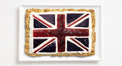 Food Art UK Flag