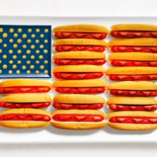 Food Art US Flag