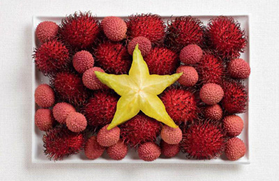 Food Art Vietnam Flag