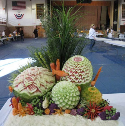Food Art Carving by Nita Gill