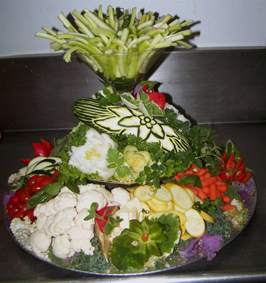 Vegetable and Fruit carving Ric Testani