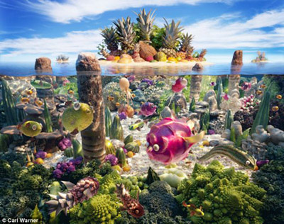 Food Lanscapes by Carl Warner