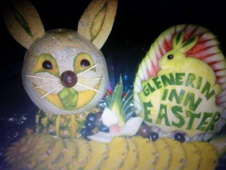 Easter Melon Bunny