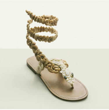 Food Art Pictures Almond Cashew Sandals by Fulvio Bonavia
